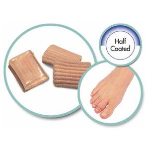 Чехол на палец силиконовый с тканью SA-9017A