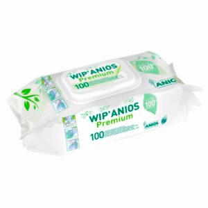 Cалфетки для дезинфекции Wip'Anios